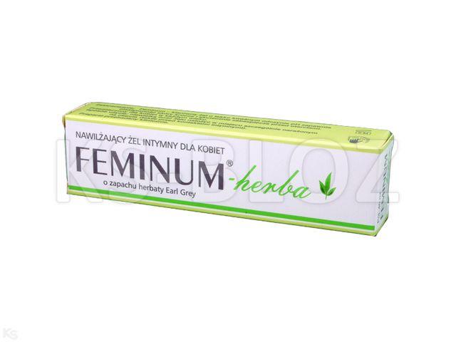 Feminum Herba  Żel nawilż.intymny d/kobiet interakcje ulotka   40 ml