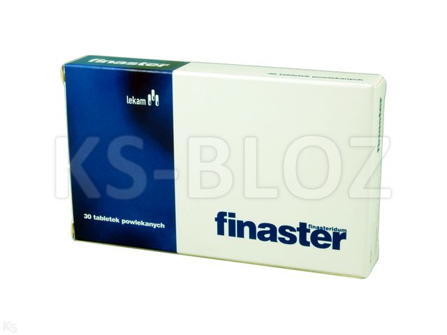 Finaster interakcje ulotka tabletki powlekane 5 mg 30 tabl.