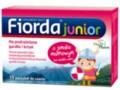 Fiorda Junior o smaku malinowym interakcje ulotka pastylki  15 pastyl.