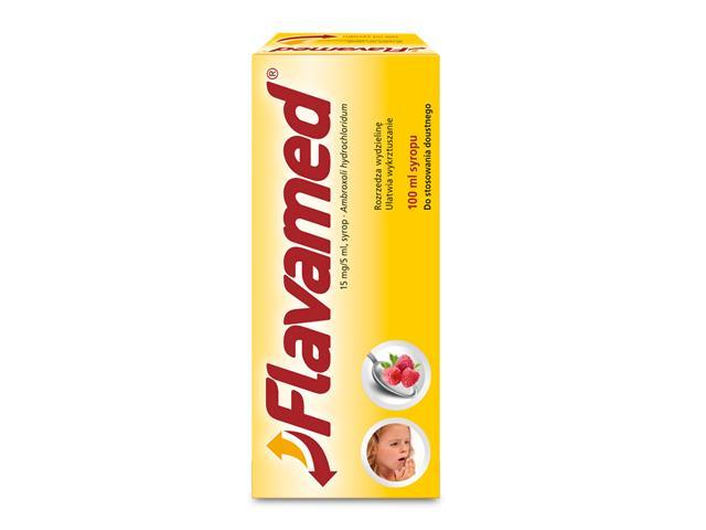 Flavamed interakcje ulotka syrop 0,015 g/5ml 100 ml