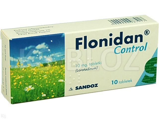 Flonidan Control interakcje ulotka tabletki 0,01 g 10 tabl. | blister