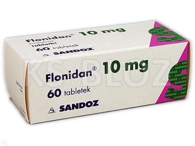 Flonidan interakcje ulotka tabletki 0,01 g 60 tabl.