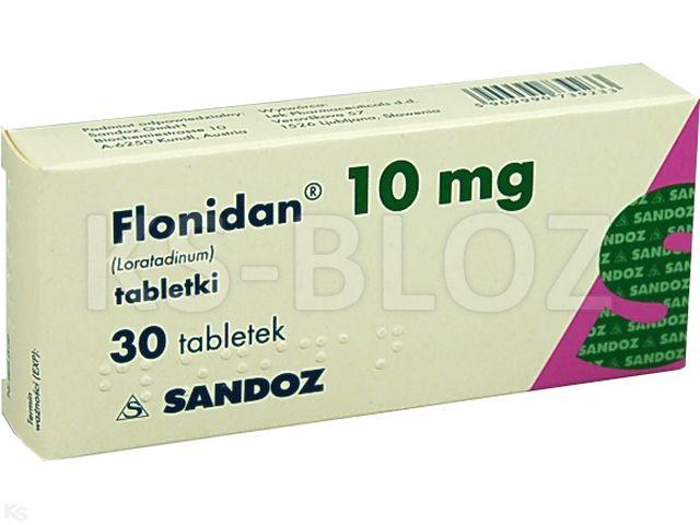 Flonidan interakcje ulotka tabletki 0,01 g 30 tabl.