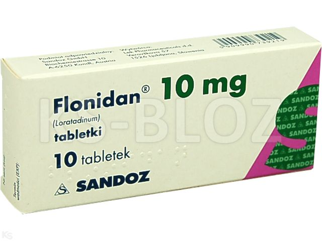 Flonidan interakcje ulotka tabletki 0,01 g 10 tabl.