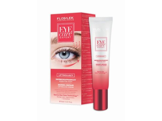 FLOS-LEK EYE CARE EXPERT Krem p/oczy dermonaprawczy liftingujący interakcje ulotka   15 ml