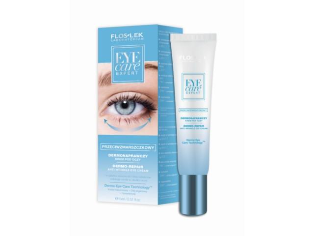 FLOS-LEK EYE CARE EXPERT Krem p/oczy dermonaprawczy przeciwzmarszczkowy interakcje ulotka   15 ml