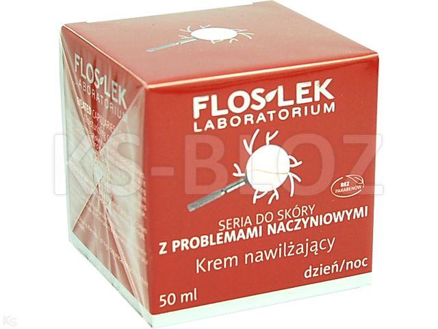 FLOS-LEK Krem nawil.d/cer.z p.naczyn. interakcje ulotka   50 ml