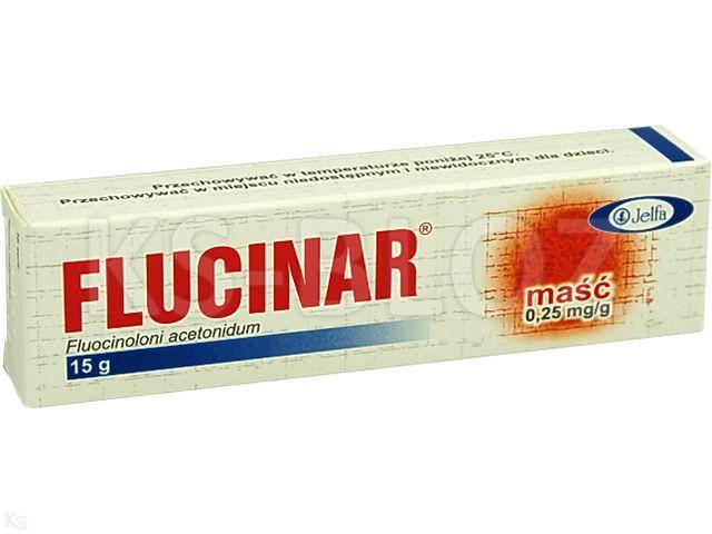Flucinar interakcje ulotka maść 0,25 mg/g 15 g