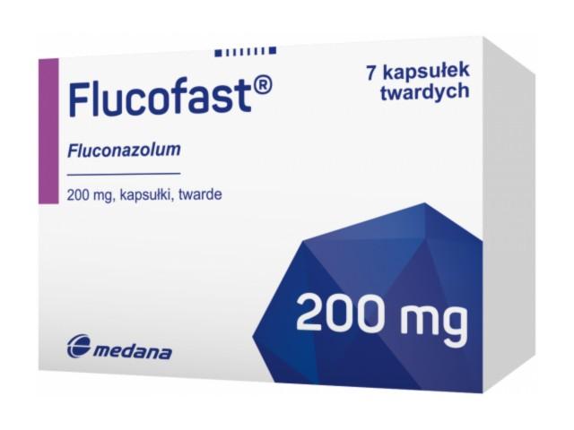 Flucofast interakcje ulotka kapsułki twarde 0,2 g 7 kaps.