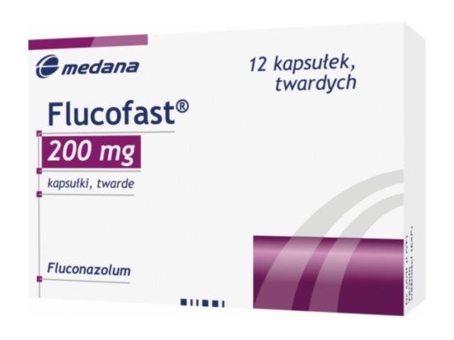 Flucofast interakcje ulotka kapsułki twarde 0,2 g 12 kaps.