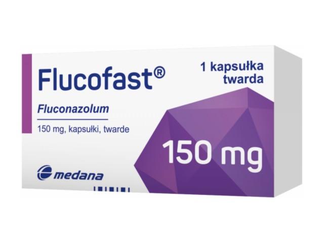 Flucofast interakcje ulotka kapsułki twarde 0,15 g 1 kaps.