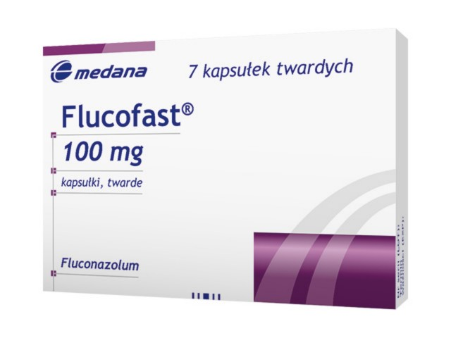 Flucofast interakcje ulotka kapsułki twarde 0,1 g 7 kaps.