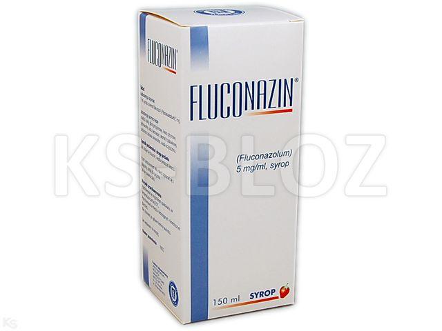 Fluconazin interakcje ulotka syrop 5 mg/ml 150 ml | butelka