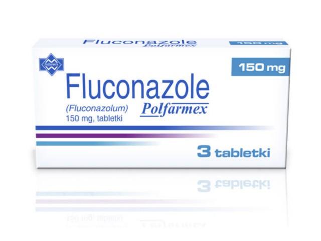 Fluconazole Polfarmex interakcje ulotka tabletki 0,15 g 3 tabl.