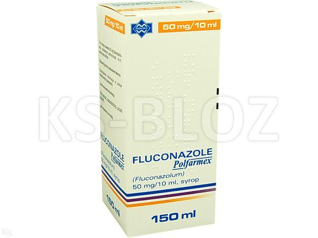 Fluconazole Polfarmex interakcje ulotka syrop 5 mg/ml 150 ml