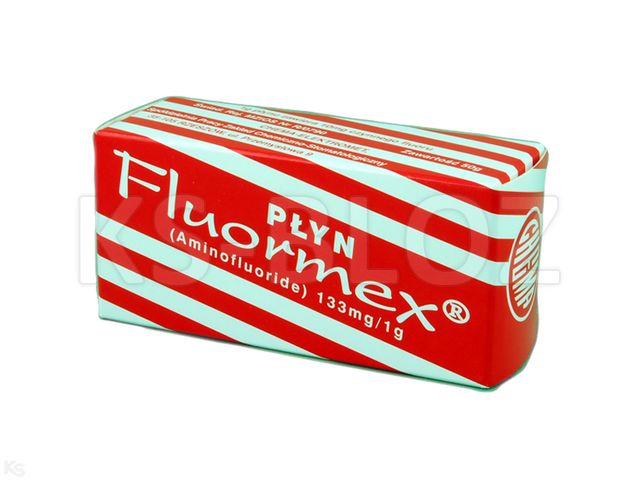 Fluormex interakcje ulotka płyn do stosowania w jamie ustnej 0,133 g/g 50 g