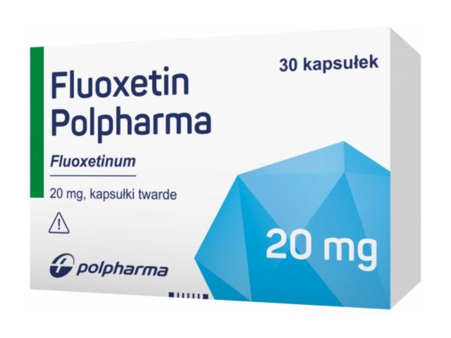 Fluoxetin Polpharma interakcje ulotka kapsułki twarde 0,02 g 30 kaps.