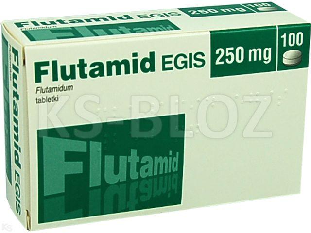 Flutamid Egis interakcje ulotka tabletki 0,25 g 100 tabl.