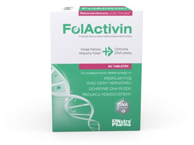 FolActivin interakcje ulotka tabletki 0,4 mg 90 tabl.