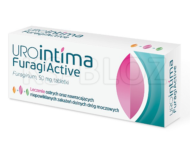 Furaginum US Pharmacia (Urointima FuragiActive) interakcje ulotka tabletki 0,05 g 30 tabl.
