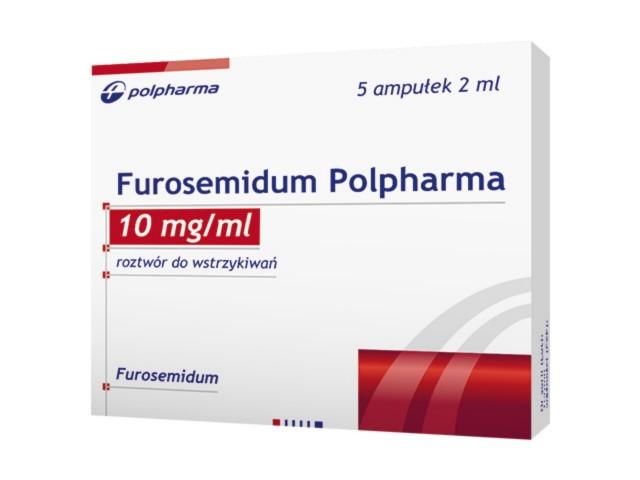 Furosemidum Polpharma interakcje ulotka roztwór do wstrzykiwań 0,01 g/ml 5 amp. po 2 ml
