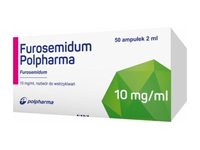 Furosemidum Polpharma interakcje ulotka roztwór do wstrzykiwań 0,01 g/ml 50 amp. po 2 ml