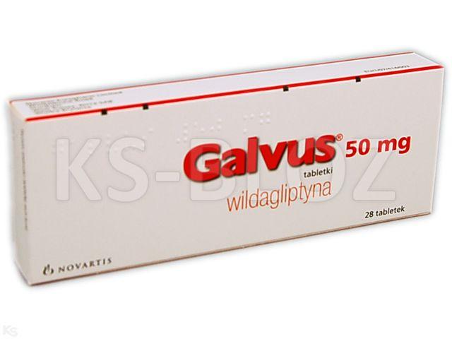 Galvus interakcje ulotka tabletki 0,05 g 28 tabl.
