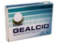 Gealcid interakcje ulotka tabletki do rozgryzania i żucia 0,35g+0,12g+0,1g 24 tabl.