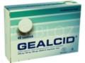 Gealcid interakcje ulotka tabletki do rozgryzania i żucia 0,35g+0,12g+0,1g 40 tabl.