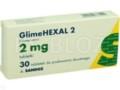 GlimeHexal 2 interakcje ulotka tabletki 2 mg 30 tabl.