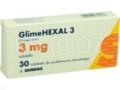 GlimeHexal 3 interakcje ulotka tabletki 3 mg 30 tabl.