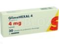 GlimeHexal 4 interakcje ulotka tabletki 4 mg 30 tabl.