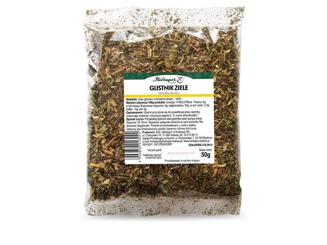 GLISTNIK ZIELE  Herbatka zioł. interakcje ulotka   50 g
