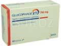 Glucophage XR interakcje ulotka tabletki o przedłużonym uwalnianiu 0,75 g 60 tabl.