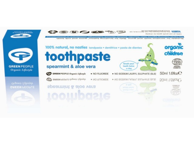 GP Pasta d/zęb. mięt.-aloes.dla dzieci i niemowl.b/fluoru interakcje ulotka   50 ml