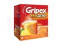 Gripex Hot (HotActiv) interakcje ulotka proszek do przygotowania roztworu doustnego 0,65g+0,05g+0,01g 8 sasz. po 4 g