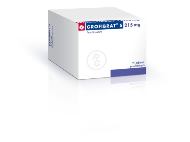 Grofibrat S interakcje ulotka tabletki powlekane 0,215 g 90 tabl.