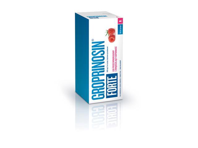 Groprinosin Forte interakcje ulotka syrop 0,5 g/5ml 150 ml