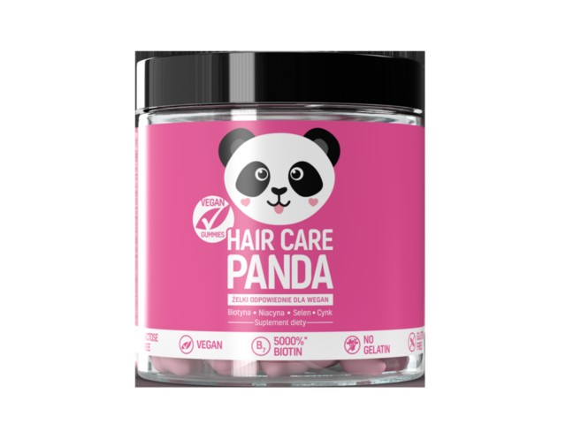 Hair Care Panda interakcje ulotka żelki  300 g