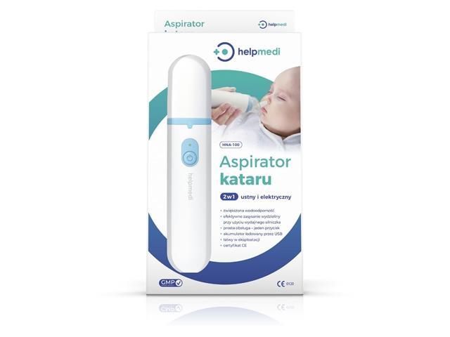 HelpMedi Aspirator Kataru 2w1 HNA-100 interakcje ulotka aspirator  1 szt.