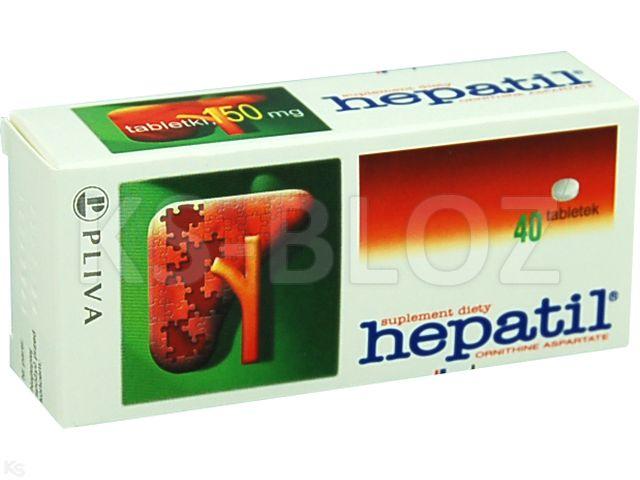 Hepatil interakcje ulotka tabletki 0,15 g 40 tabl.