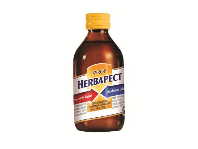 Herbapect interakcje ulotka syrop (0,498g+0,348g+0,087g)/5ml 240 g