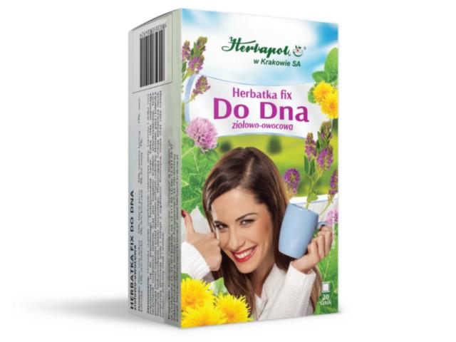 Herbatka fix Do Dna ziołowo-owocowa interakcje ulotka  2 g 20 toreb.