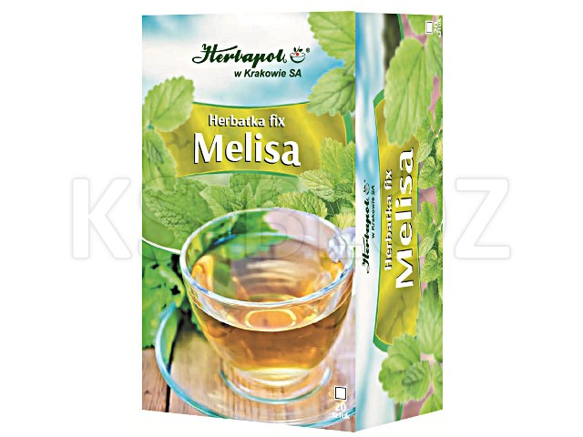 Herbatka fix MELISA interakcje ulotka  1,5 g 20 toreb.