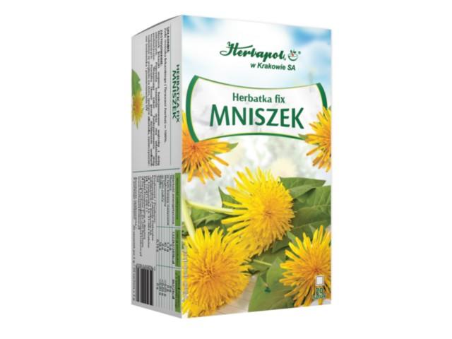 Herbatka fix MNISZEK interakcje ulotka   20 sasz.