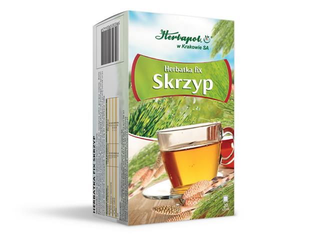 Herbatka fix Skrzyp interakcje ulotka  1,2 g 20 toreb.