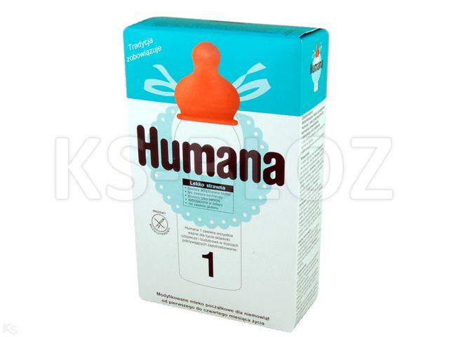Humana 1 interakcje ulotka proszek  350 g