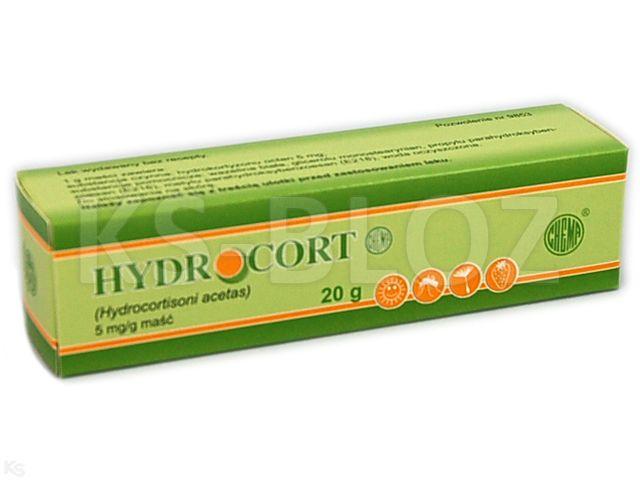 Hydrocort CHEMA interakcje ulotka maść 5 mg/g 20 g