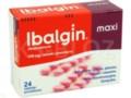 Ibalgin Maxi interakcje ulotka tabletki powlekane 0,4 g 24 tabl.