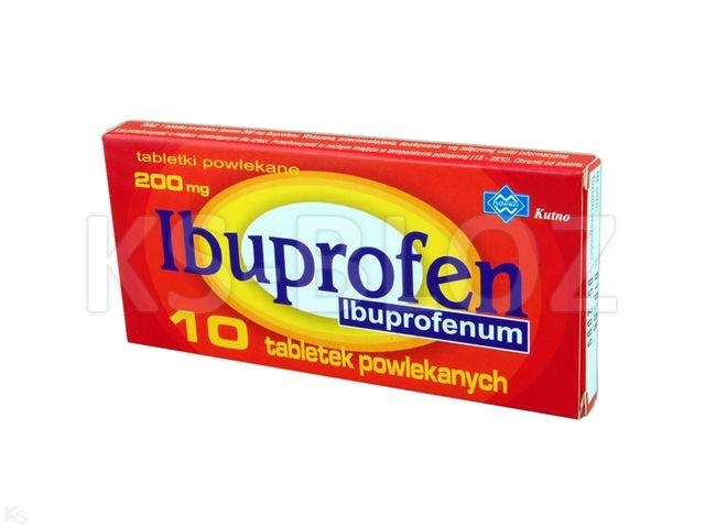 Ibuprofen Polfarmex interakcje ulotka tabletki powlekane 0,2 g 10 tabl.